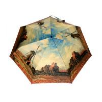 Cane Umbrella- Monet – Tulip Fields with the Rijnsburg Windmill