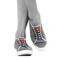 Hilaces Silicone Shoelaces Elastic Slip On